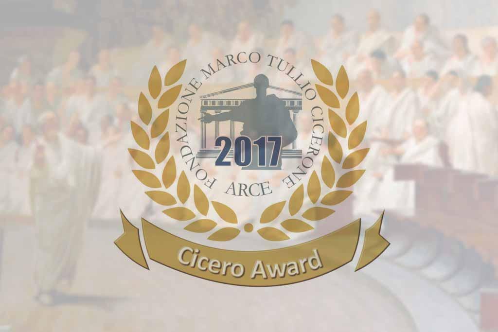 cicero award fondazione mt cicerone-arce