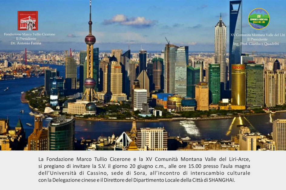 internscambio delegazione cinese fondazione cicerone