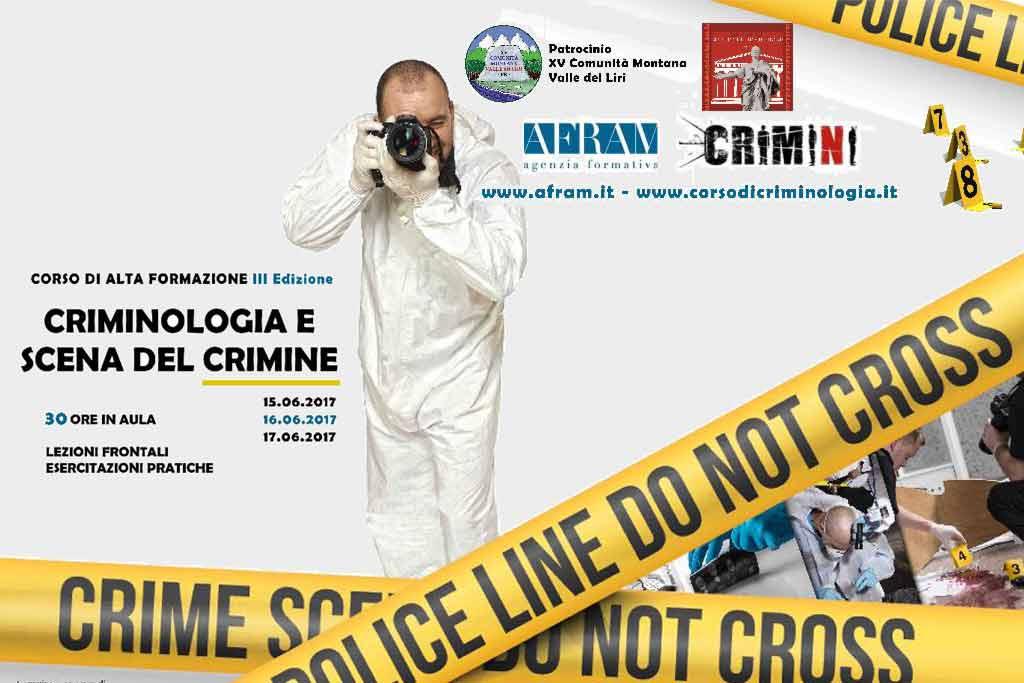 criminologia e scena del crimine corso di alta formazione