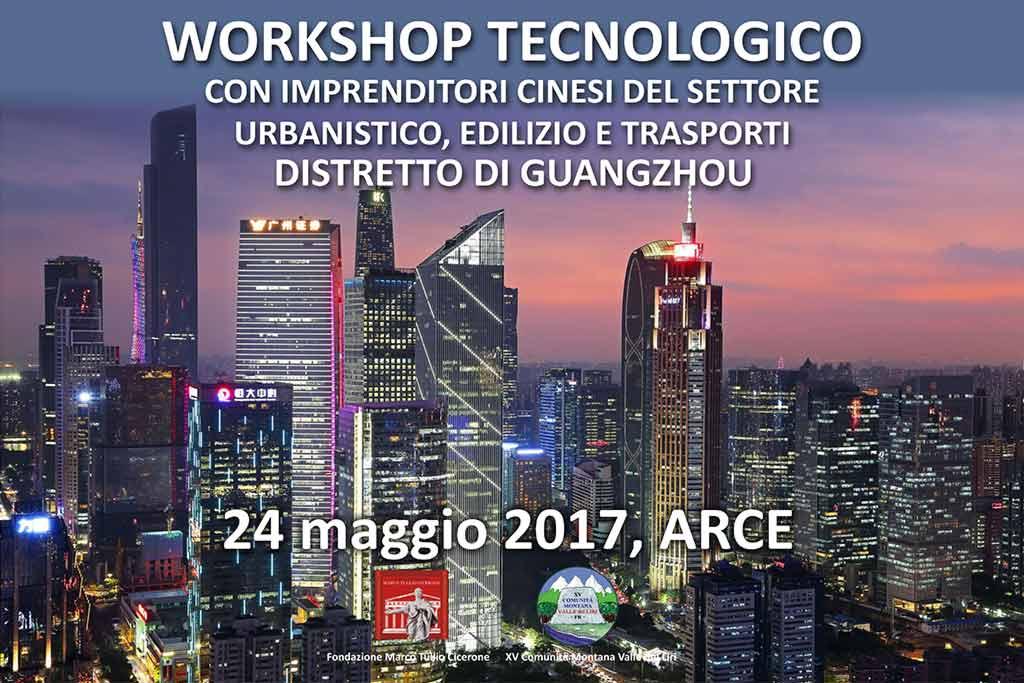 workshop tecnologico imprenditori cinesi